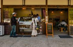 Shop in Shirakawa-go stock photography