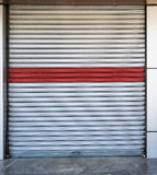 Shop shutter in Iraq Royalty Free Stock Image