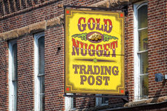 Shop Sign in Deadwood Royalty Free Stock Images