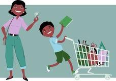 Shop smart stock illustration