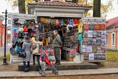 Shop with souvenirs Royalty Free Stock Photo