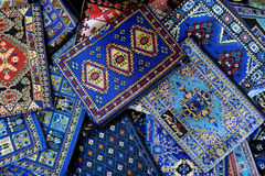 Shop stand with Turkish souvenirs Royalty Free Stock Image