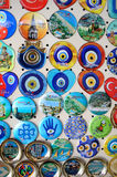 Shop stands with Turkish souvenirs Stock Photos