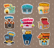 Shop stickers Royalty Free Stock Photography