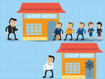 Shop stores Royalty Free Stock Photo
