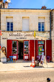 Shop tabac in a village in Charente Maritime, France Royalty Free Stock Images