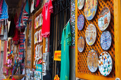Shop with tourist souvenirs in Cordoba Stock Images
