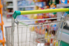 Shop trolley Stock Photography