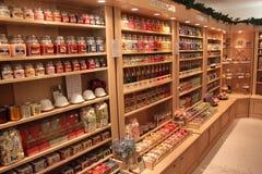 Shop vädrade stearinljus Royaltyfri Foto