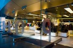 Shop von BMW-Borte (Welt) Stockbild