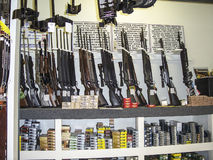 Shop for weapons in Los Angeles Stock Photography