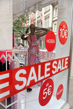 Shop window display Stock Photography