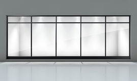 Generic Storefront Department Store Stock Photo Image