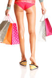 Shopagolic Royalty Free Stock Photography