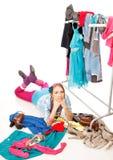 Shopagolic Royalty Free Stock Photos