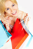 Shopaholic Stock Photo