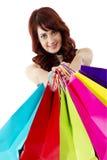 Shopaholic Fotografia Stock