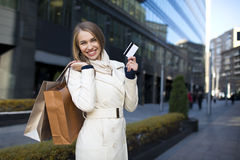 Shopaholic Royalty Free Stock Photography