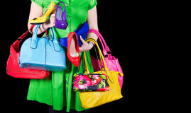 shopaholic Fotografia de Stock Royalty Free