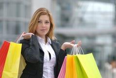 Shopaholic Stock Image