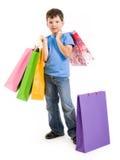 Shopaholic imagen de archivo libre de regalías