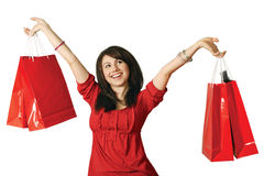Shopaholic Royalty Free Stock Images