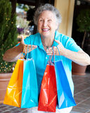 Shopaholic - Compulsive Shopping Royalty Free Stock Images