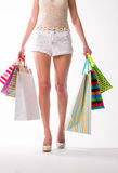 Shopaholic. Royalty Free Stock Photography
