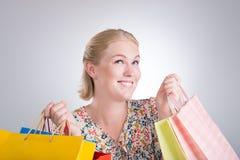 Shopaholic Stock Images