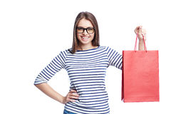 Shopaholic Royalty Free Stock Photo