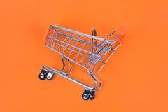 Shopaholic shopper ad concept. Close up top above overhead high stock photo