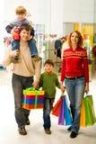 Shopaholics Image libre de droits