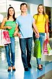 Shopaholics fotos de stock royalty free