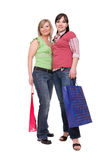 Shopaholics Stock Images