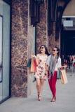 Shopaholics Royalty Free Stock Photography