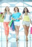 Shopaholics novo Fotografia de Stock Royalty Free
