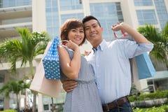 Shopaholics Stock Image