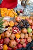 Shopboard de la fruta Fotografía de archivo libre de regalías