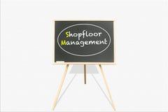 Shopfloor Management Royalty Free Stock Photo