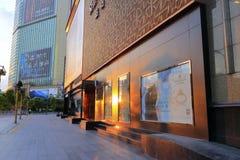 Shopfront в утре Стоковые Фото