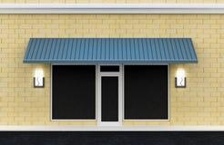 Shopfront. Exterior del departamento. Fotografía de archivo