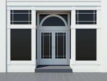 Shopfront with large windows Stock Images