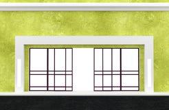 Shopfront. Série. ilustração stock