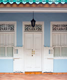Shophouse  in Singapore Royalty Free Stock Photography