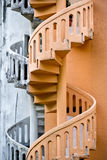 Shophouse Spriral Staircase Stock Image