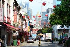 Shophouses de Chinatown Fotografia de Stock Royalty Free