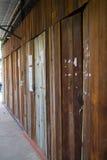 Shophouses de madeira velhos Fotos de Stock