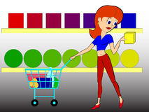 Shoping Royalty Free Stock Images
