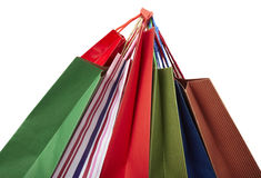 Shoping bag consumerism retail Royalty Free Stock Photo