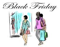 Shoping dzień obrazy stock